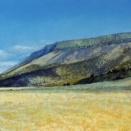 Abert Rim, pastel on prepared paper, 10 x 28.5 inches [$850]