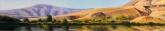 Still Morning, Roza Landing. Pastel, 5.5 x 28.75 inches [$800]