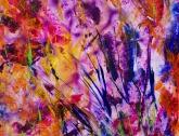 Burst of Spring, acrylic on Yupo, 6 x 9 inches [$200]